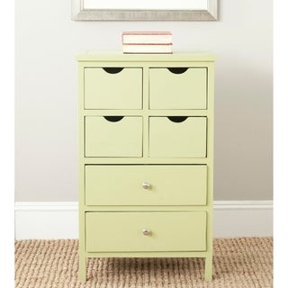 Safavieh Avocado Green Storage Lilly Side Chest