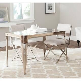Safavieh Weston Dark Antiqued Silver Dining Table|https://ak1.ostkcdn.com/images/products/9048898/P16245647.jpg?impolicy=medium