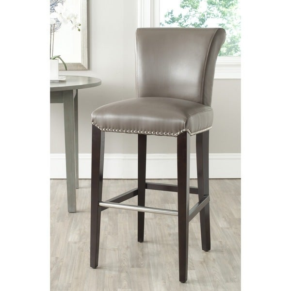 Counter Stools Overstock: Shop Safavieh Seth Clay 29-inch Bar Stool