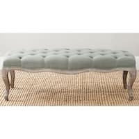 Safavieh Old World Ramsey Sea Mist Oak Wood Bench