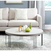 Safavieh Keelin Grey/ Black Coffee Table