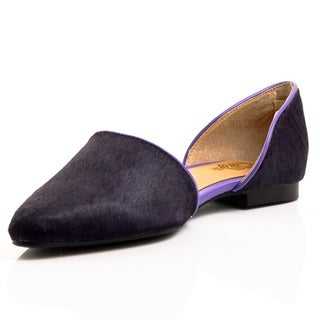 Envy Women's Astrid Pointed-toe D'orsay Flats