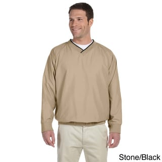 Men's V-neck Microfiber Wind Shirt