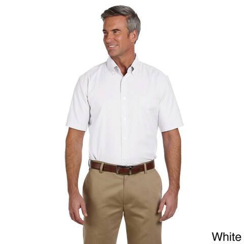 Men's Short-sleeve Stain-release Oxford