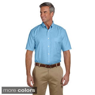 Men's Short-sleeve Stain-release Oxford