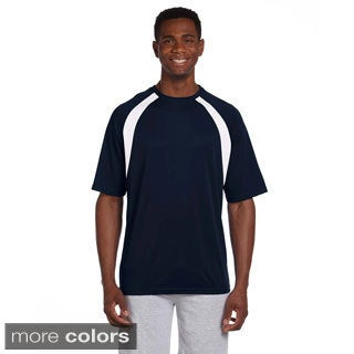 Men's Athletic Sport Colorblocked T-shirt
