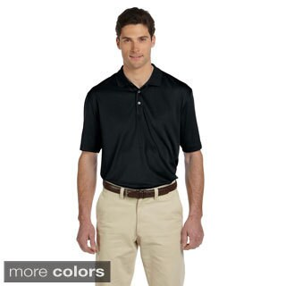 Men's Double Mesh Short-sleeve Sport Shirt