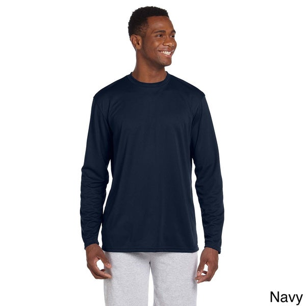 Mens Athletic Sport Long Sleeve T-shirt