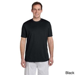 Men's Solid Athletic Sport T-shirt