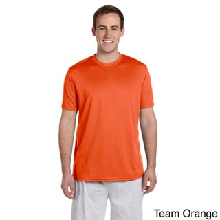 Men's Solid Athletic Sport T-shirt