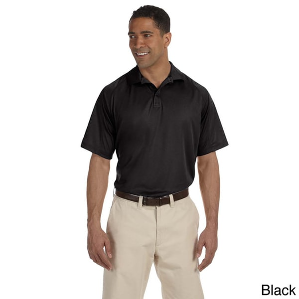 Mens Moisture-wicking Polytech Mesh Insert Polo by