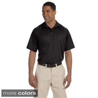 Men's Moisture-wicking Polytech Mesh Insert Polo