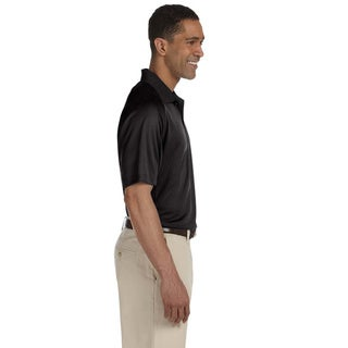 Men's Moisture-wicking Polytech Mesh Insert Polo