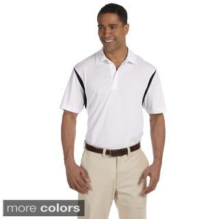 Men's Back Blocked Micro-Pique Polo Shirt