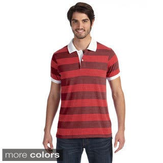 Alternative Men's Striped Short Sleeve Polo Shirt|https://ak1.ostkcdn.com/images/products/9049074/Alternative-Mens-Striped-Short-Sleeve-Polo-Shirt-P16245784.jpg?impolicy=medium