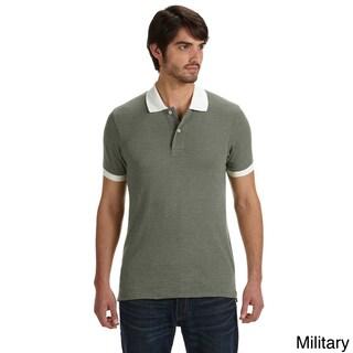 Alternative Men's Feeder Stripe Polo Shirt (More options available)