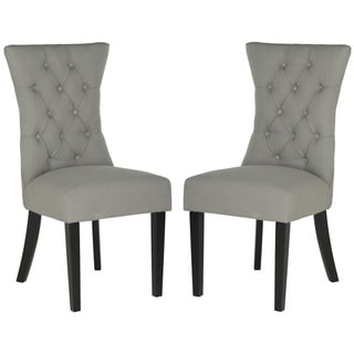 Safavieh En Vogue Dining Columbo Granite Linen Dining Chairs (Set of 2)