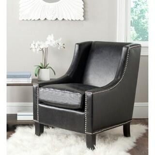 Safavieh Daniel Antique Black Club Chair