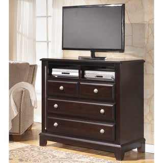 Signature Design by Ashley Ridgley Dark Brown Media Chest