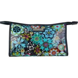 Women's Hadaki by Kalencom Printed Coated Toiletry Pod Dixie Daisies