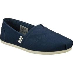 Women's Skechers BOBS Plush Peace and Love Navy/Navy