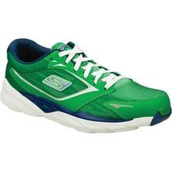 Men's Skechers GOrun Ride 3 Green/Blue