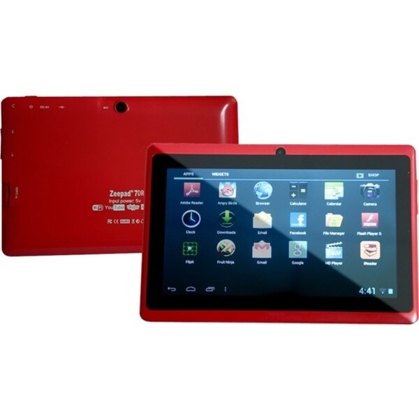 "Zeepad 7DRK Tablet - 7"" - 512 MB DDR3 SDRAM - Rockchip Cortex A9 RK30"