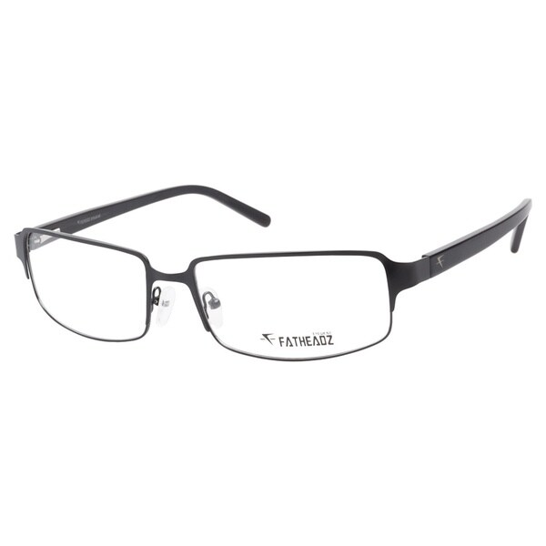 f6329aaeb9 Shop FatHeadz FH00133 Soul XL Matte Black Prescription Eyeglasses ...