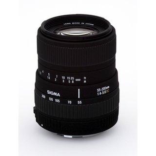 Sigma 55-200mm f/4-5.6 DC AF Lens for Sony Alpha and Minolta DSLR