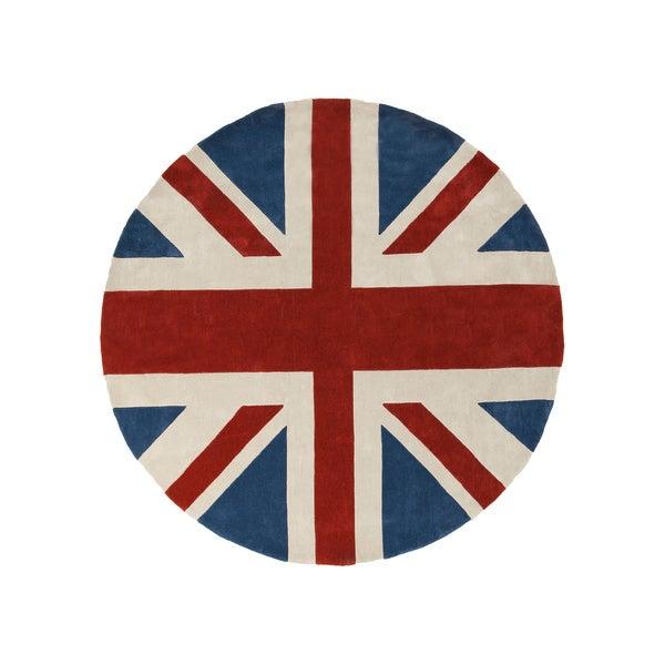 Area Rugs Round Contemporary. Union Jack ...