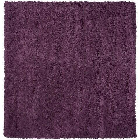 Hand Woven Bella New Zealand Felted Wool Shag Area Rug