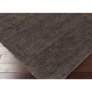 Hand Woven Kate New Zealand Felted Wool Shag Area Rug (5' x 8')