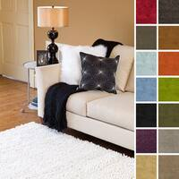 Hand-woven Ashley New Zealand Felted Wool Shag Area Rug (8' x 10'6)