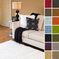 Hand Woven Kendra New Zealand Felted Wool Shag Area Rug (3'6 x 5'6) - 3'6 x 5'6