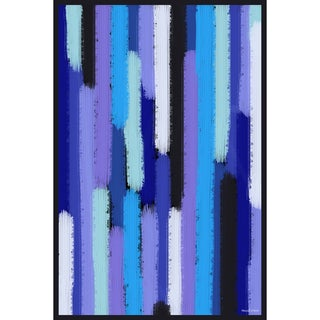 Maxwell Dickson 'Waterfall Showers'  Abstract Canvas Art Print