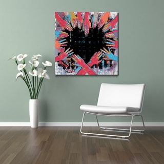 Maxwell Dickson 'All of Us or Non of Us' Modern Canvas Wall Art
