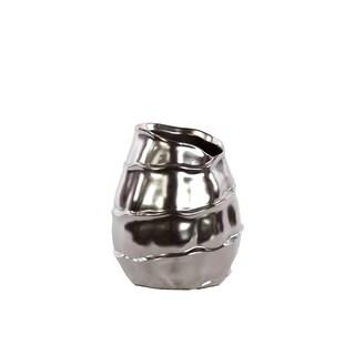 Ceramic Vase Silver
