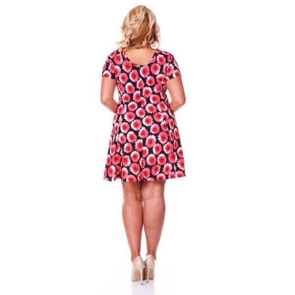 White mark dresses plus size