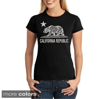 Women's California Republic Bear T-shirt
