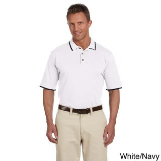 Men's Piqu Cotton Short-sleeve Polo (More options available)