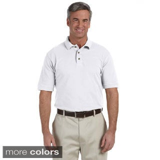 Men's Tall Ringspun Cotton Piqu Short-sleeve Polo