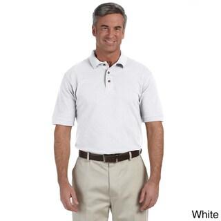 Men's Tall Ringspun Cotton Piqu Short-sleeve Polo