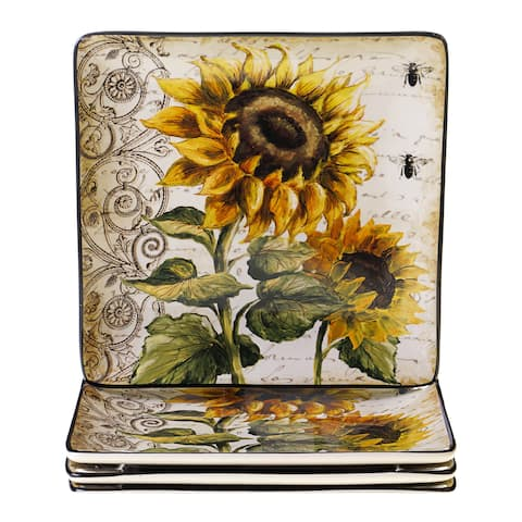 Sunflower Dishes Dinnerware | Find Great Kitchen & Dining Deals ...