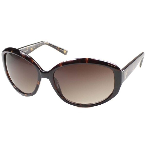 Cole Haan Women's 'CO 617 21' Tortoise Plastic Fashion Sunglasses
