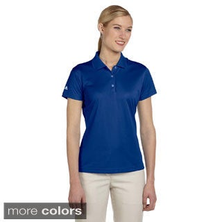 Adidas Women's ClimaLite Basic Short-sleeve Polo