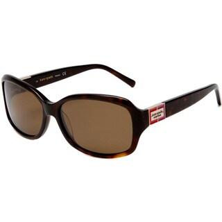 Kate Spade Women's 'Annika 086P' Tortoise Polarized Sunglasses