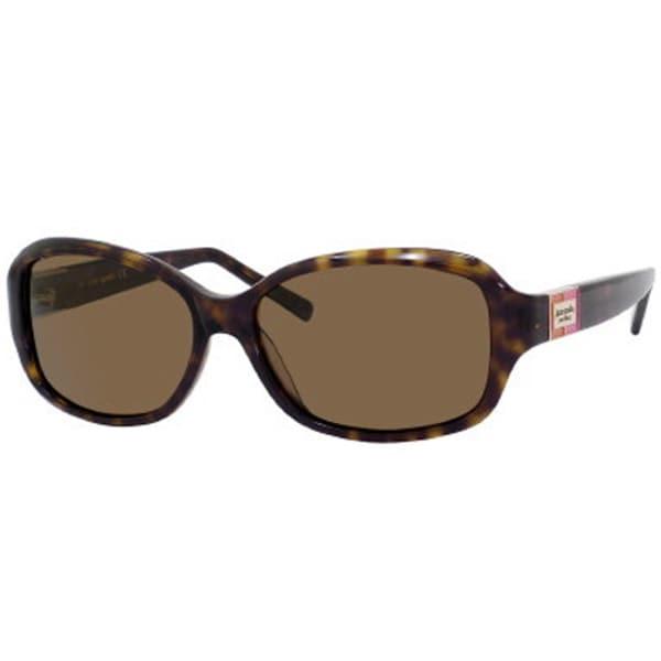 ed44afa1ba Shop Kate Spade Women s  Annika 086P  Tortoise Polarized Sunglasses ...