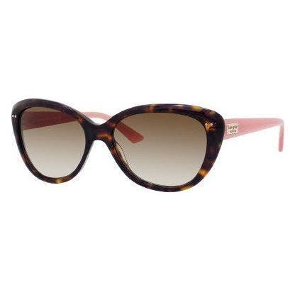 Kate Spade Women's 'Angelique JUH' Tortoise and Pink Cat Eye Sunglasses