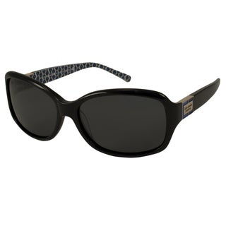 Kate Spade Women's 'Annika /P JEDP' Black Polarized Sunglasses