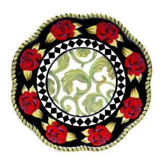 Classic Rose 13-inch Round Charger